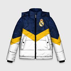 Куртка зимняя для мальчика Real Madrid FC: Sport цвета 3D-черный — фото 1