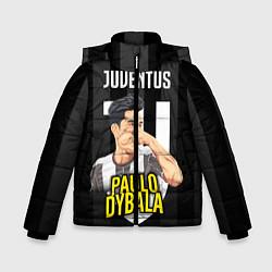 Куртка зимняя для мальчика FC Juventus: Paulo Dybala цвета 3D-черный — фото 1