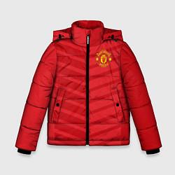 Куртка зимняя для мальчика FC Manchester United: Reverse цвета 3D-черный — фото 1