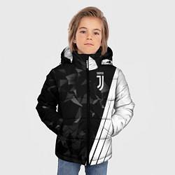 Куртка зимняя для мальчика FC Juventus: Abstract цвета 3D-черный — фото 2