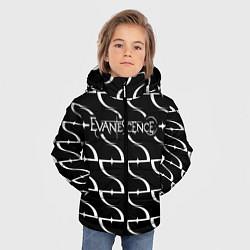 Куртка зимняя для мальчика Evanescence цвета 3D-черный — фото 2