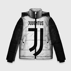 Куртка зимняя для мальчика FC Juventus: Silver Original цвета 3D-черный — фото 1