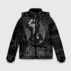 Куртка зимняя для мальчика AC/DC: Black Devil цвета 3D-черный — фото 1
