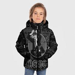 Куртка зимняя для мальчика AC/DC: Black Devil цвета 3D-черный — фото 2