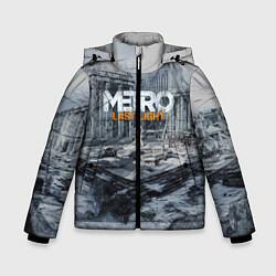 Детская зимняя куртка для мальчика с принтом Metro: Last Light, цвет: 3D-черный, артикул: 10144520906063 — фото 1