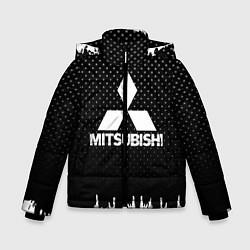 Куртка зимняя для мальчика Mitsubishi: Black Side цвета 3D-черный — фото 1