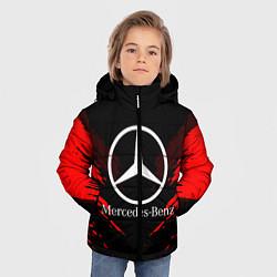 Куртка зимняя для мальчика Mercedes-Benz: Red Anger цвета 3D-черный — фото 2