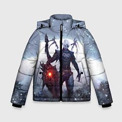 Детская зимняя куртка для мальчика с принтом Dark Knight, цвет: 3D-черный, артикул: 10147779106063 — фото 1