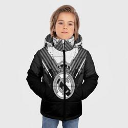 Куртка зимняя для мальчика FC Real Madrid: Black Style цвета 3D-черный — фото 2