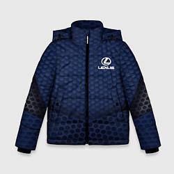 Куртка зимняя для мальчика Lexus: Sport Motors цвета 3D-черный — фото 1