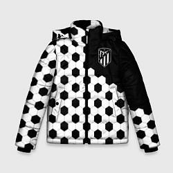 Куртка зимняя для мальчика FC Atletico Madrid: Hexa Style цвета 3D-черный — фото 1