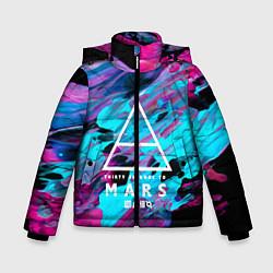 Детская зимняя куртка для мальчика с принтом 30 STM: Neon Colours, цвет: 3D-черный, артикул: 10150658506063 — фото 1