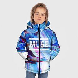 Куртка зимняя для мальчика MUSE: Blue Colours - фото 2