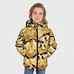 Куртка зимняя для мальчика Doge: Deal with it цвета 3D-черный — фото 2