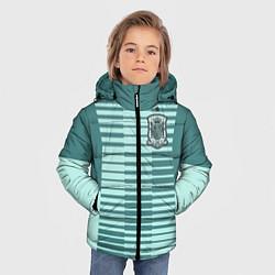 Куртка зимняя для мальчика Сборная Испании: Вратарская ЧМ-2018 цвета 3D-черный — фото 2