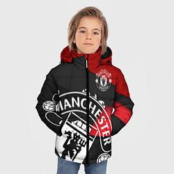 Куртка зимняя для мальчика FC Man United: Exclusive цвета 3D-черный — фото 2