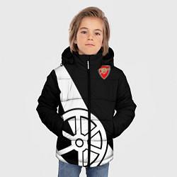Куртка зимняя для мальчика FC Arsenal: Exclusive цвета 3D-черный — фото 2