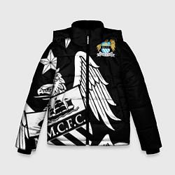 Куртка зимняя для мальчика FC Manchester City: Exclusive цвета 3D-черный — фото 1