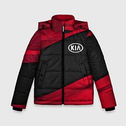 Куртка зимняя для мальчика Kia: Red Sport цвета 3D-черный — фото 1