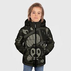 Куртка зимняя для мальчика Bendy Devil цвета 3D-черный — фото 2