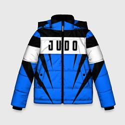 Куртка зимняя для мальчика Judo Fighter цвета 3D-черный — фото 1