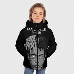 Куртка зимняя для мальчика XXXTentacion: 1998-2018 цвета 3D-черный — фото 2
