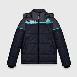 Куртка зимняя для мальчика Detroit: RK800 цвета 3D-черный — фото 1