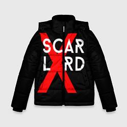 Куртка зимняя для мальчика Scarlxrd Logo цвета 3D-черный — фото 1