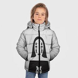 Детская зимняя куртка для мальчика с принтом Унесенные призраками, цвет: 3D-черный, артикул: 10155871506063 — фото 2