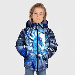 Куртка зимняя для мальчика Team Liquid: Splinters цвета 3D-черный — фото 2