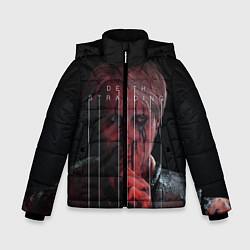 Куртка зимняя для мальчика Death Stranding цвета 3D-черный — фото 1