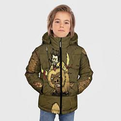 Куртка зимняя для мальчика Wild Wilson цвета 3D-черный — фото 2