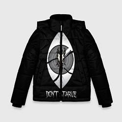 Куртка зимняя для мальчика Wilson Eye цвета 3D-черный — фото 1