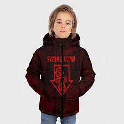 Куртка зимняя для мальчика System of a Down цвета 3D-черный — фото 2