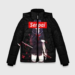 Куртка зимняя для мальчика Senpai Assassin цвета 3D-черный — фото 1