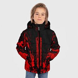 Куртка зимняя для мальчика Berserk Sword цвета 3D-черный — фото 2