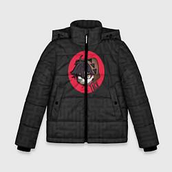 Куртка зимняя для мальчика Хитрый Зак цвета 3D-черный — фото 1