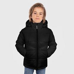 Куртка зимняя для мальчика Карбоновая броня цвета 3D-черный — фото 2