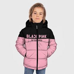 Куртка зимняя для мальчика Black Pink: In Your Area цвета 3D-черный — фото 2