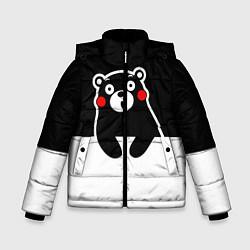 Куртка зимняя для мальчика Kumamon Surprised цвета 3D-черный — фото 1