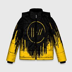 Куртка зимняя для мальчика 21 Pilots: Black Side цвета 3D-черный — фото 1