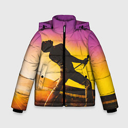 Куртка зимняя для мальчика Bohemian Rhapsody цвета 3D-черный — фото 1