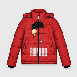 Куртка зимняя для мальчика Firmino цвета 3D-черный — фото 1