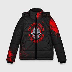 Куртка зимняя для мальчика Убийца Гоблинов цвета 3D-черный — фото 1