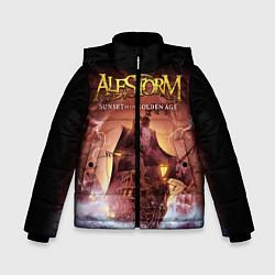 Куртка зимняя для мальчика Alestorm: Golden Ship цвета 3D-черный — фото 1