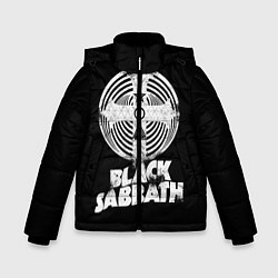 Куртка зимняя для мальчика Black Sabbath: Faith цвета 3D-черный — фото 1