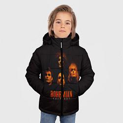 Куртка зимняя для мальчика Queen: Bohemian Rhapsody цвета 3D-черный — фото 2