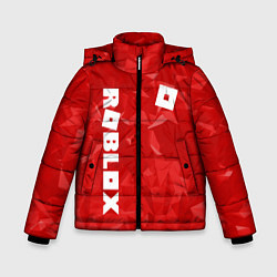Куртка зимняя для мальчика ROBLOX: Red Style цвета 3D-черный — фото 1