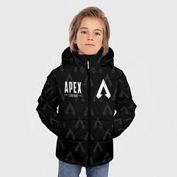 Куртка зимняя для мальчика Apex Legends: E-Sports цвета 3D-черный — фото 2