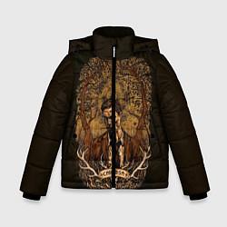 Куртка зимняя для мальчика True Detective: Carosa цвета 3D-черный — фото 1